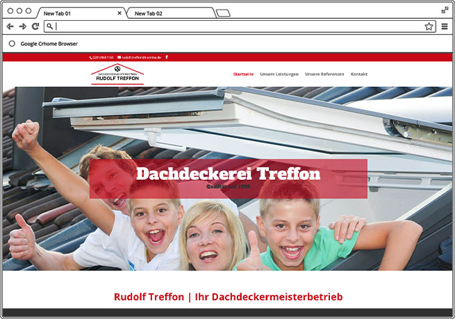 Dachdeckerei Treffon Navaro Design Bad Oeynhausen