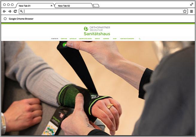 Orthopartner Westerholt Navaro Design Bad Oeynhausen